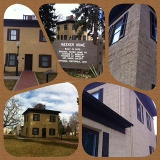 Meeker Home Museum In Greeley Coloado