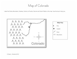 Map Printables For Teaching Greeley Colorado History
