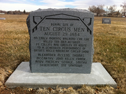 New Circus Man marker with Names