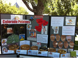 Colorado potato display