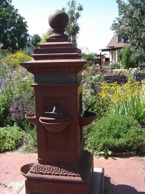 First Drinking fountain in Greeley