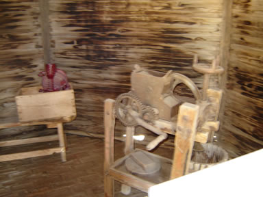 tools inside granary