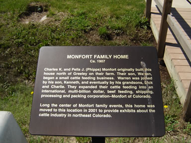 monfort home sign