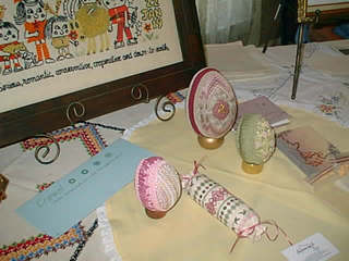 Needlework eggs